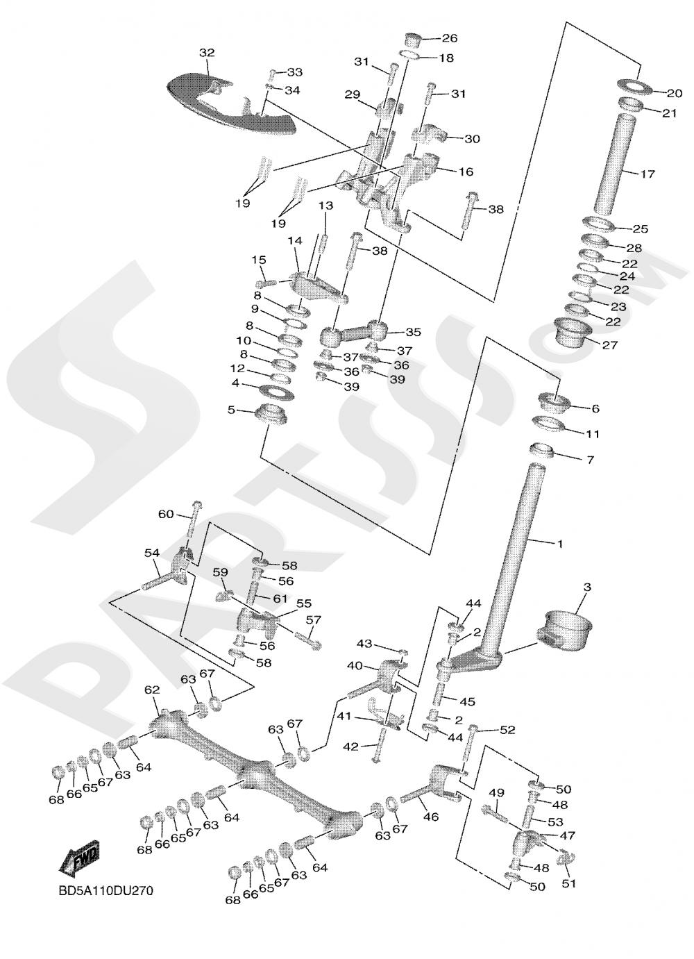 STEERING 2 Yamaha NIKEN GT 2019