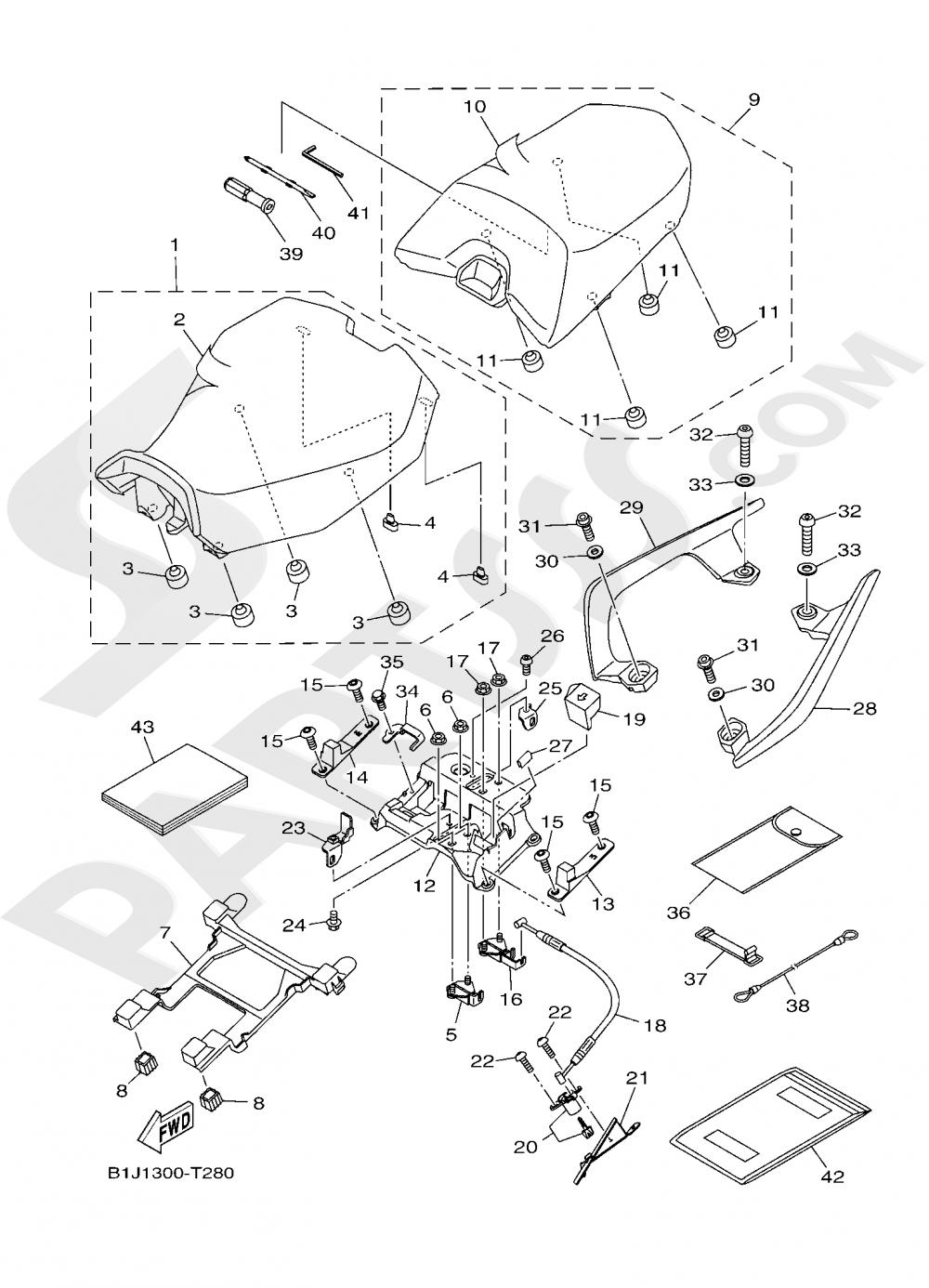 SEAT Yamaha TRACER 900 GT 2019