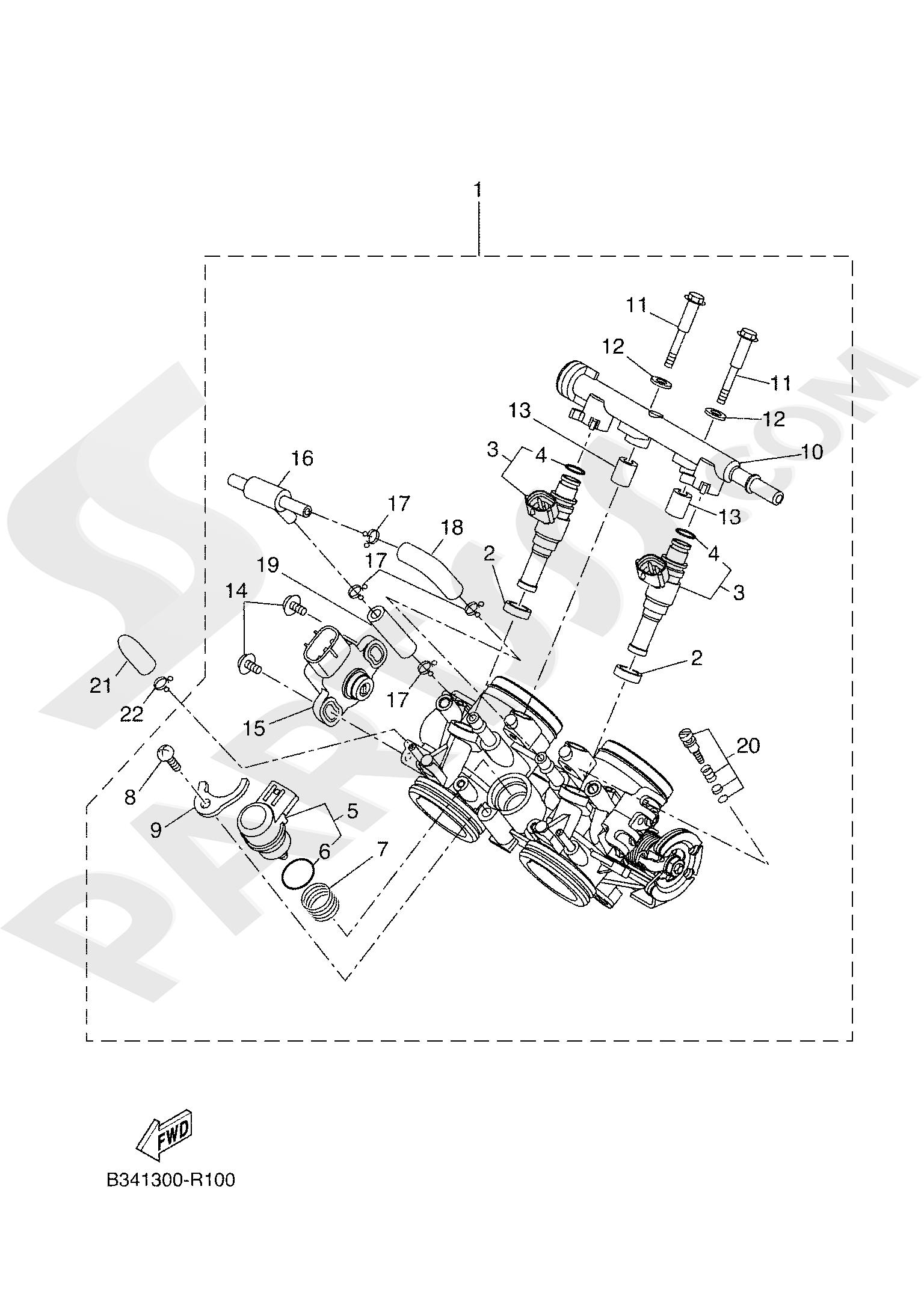 Yamaha TRACER 700 2020 INTAKE 2