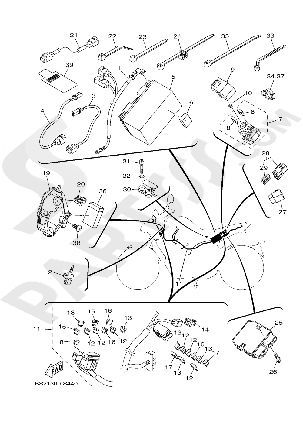 ELECTRICAL 1 Yamaha MT-09 ABS 2020