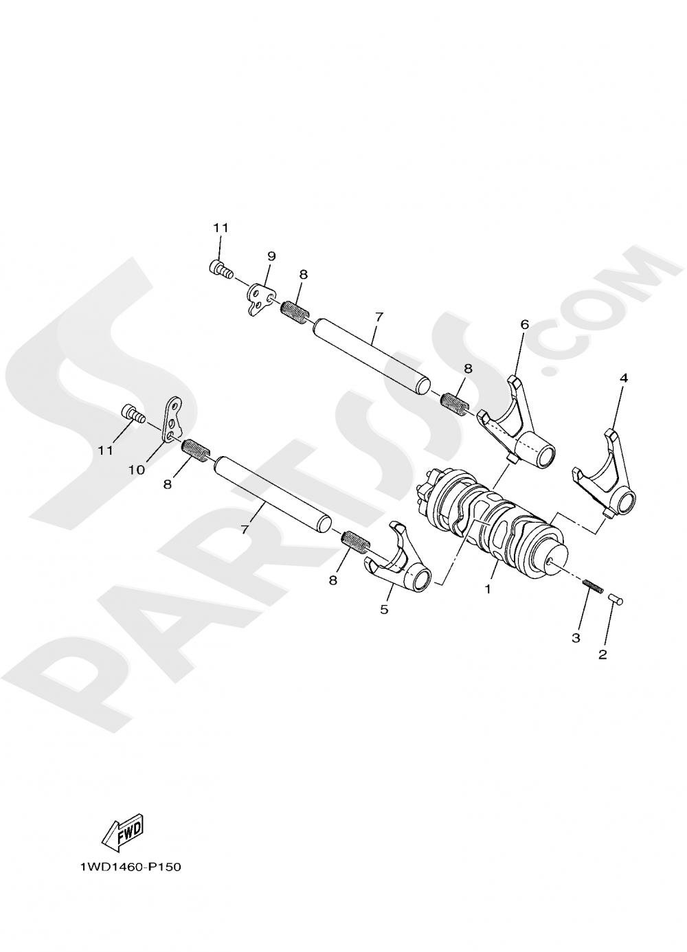 SHIFT CAM & FORK Yamaha MT-03 ABS 300CC. 2019
