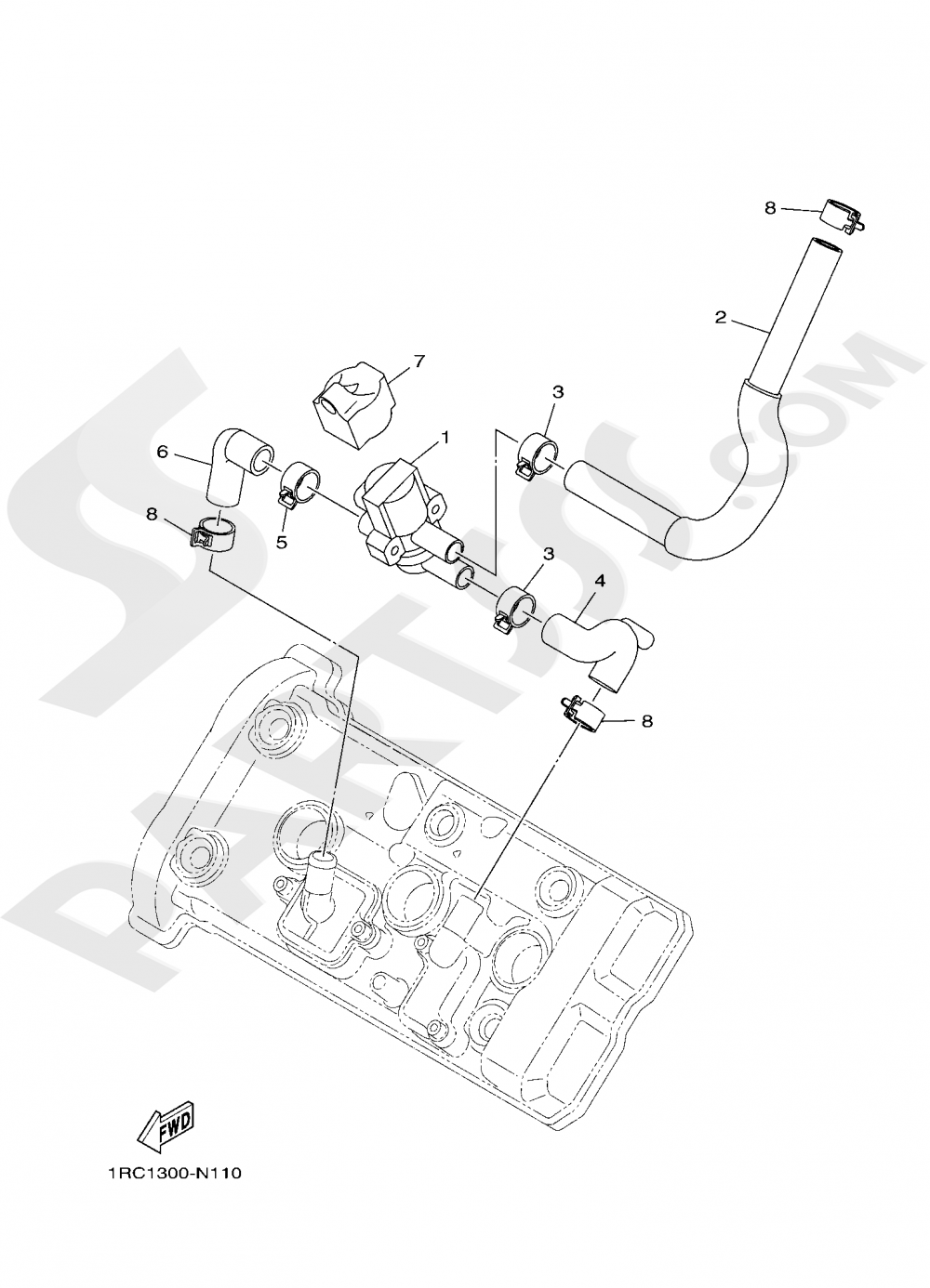 AIR INDUCTION SYSTEM Yamaha XSR900 2019