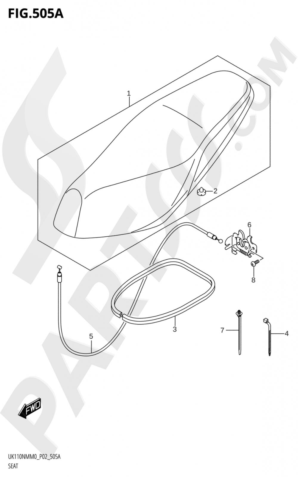 505A - SEAT Suzuki UK110NM 2020