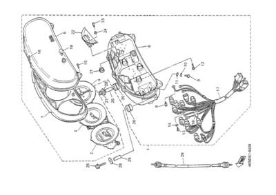 Yamaha XJ900S DIVERSION 2000 METER
