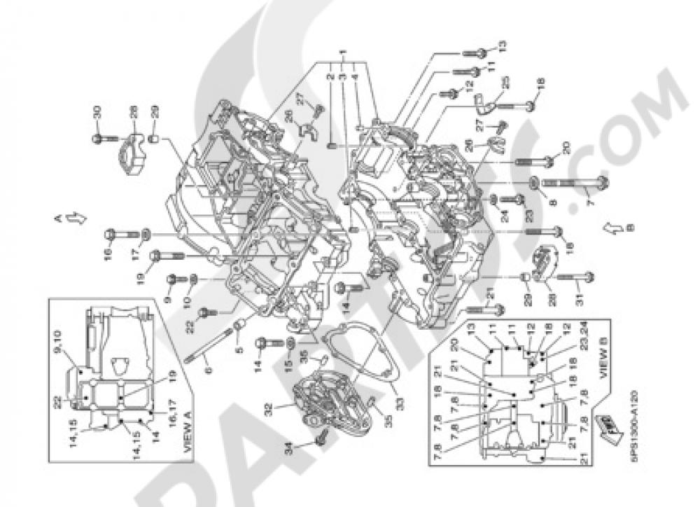 CARTER Yamaha TDM 900 2002