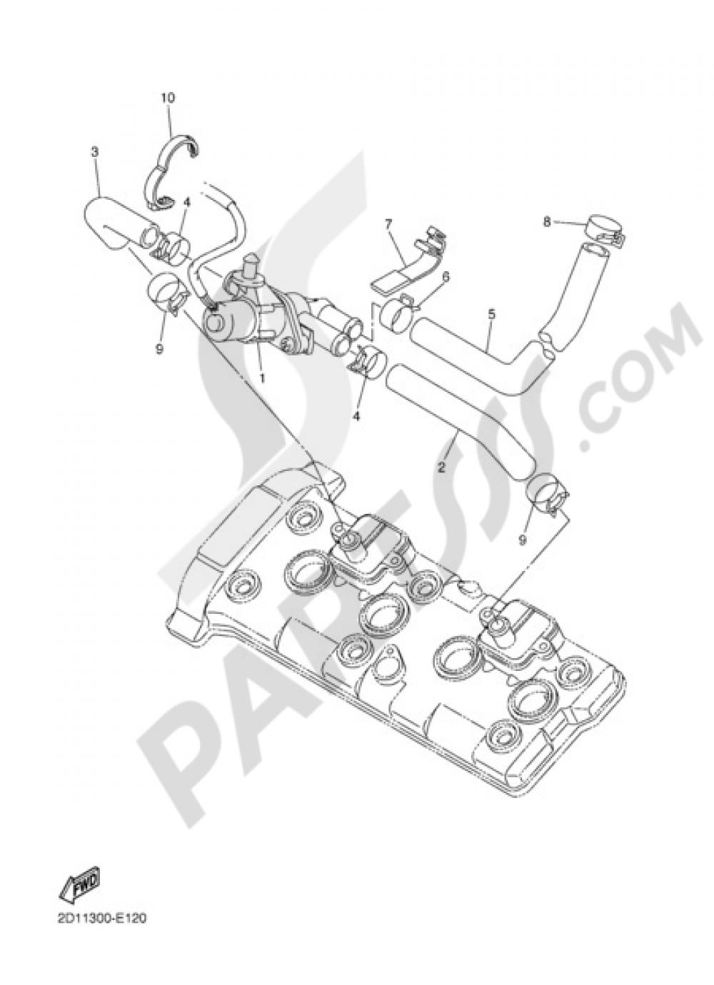 Air Induction System Yamaha Fz1 Fazer 2006