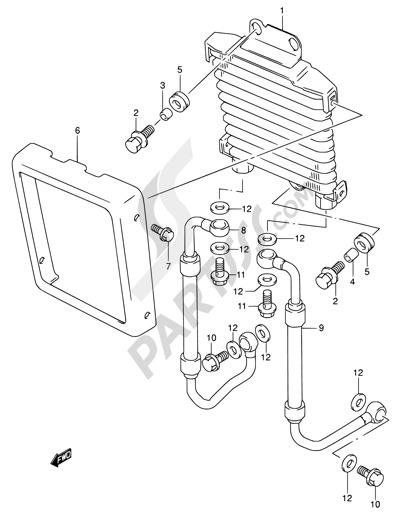 Suzuki Intruder Vl1500 2006 Dissassembly Sheet Purchase Genuine