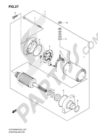 Suzuki Intruder Water Pump