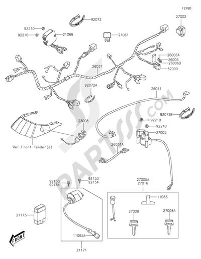 2015 300 Kawasaki Brute Force Wiring Diagram Yamaha Banshee Wiring