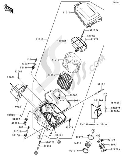 2007 Kawasaki Brute Force 750 Wiring Diagram