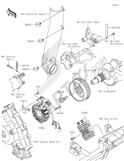 brute force 750 engine diagram schematics wiring diagrams u2022 rh parntesis co Brute Force 750 Engine Kit Brute Force 750 Crate Engine