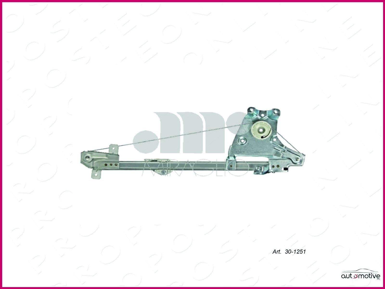 Mecanisme-Leve-vitre-Vitres-Electriques-Arriere-Gauche-Saab-9-5-5P-1999-2009