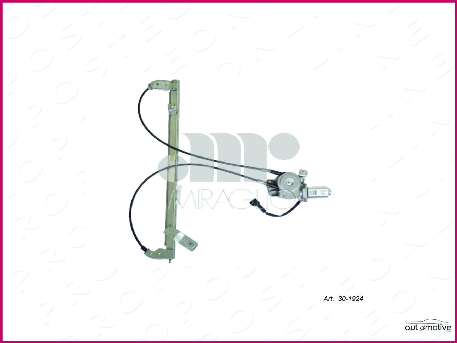 Leve-vitre-Vitres-Electriques-Electrique-Arriere-Droite-Peugeot-806-5P-1994
