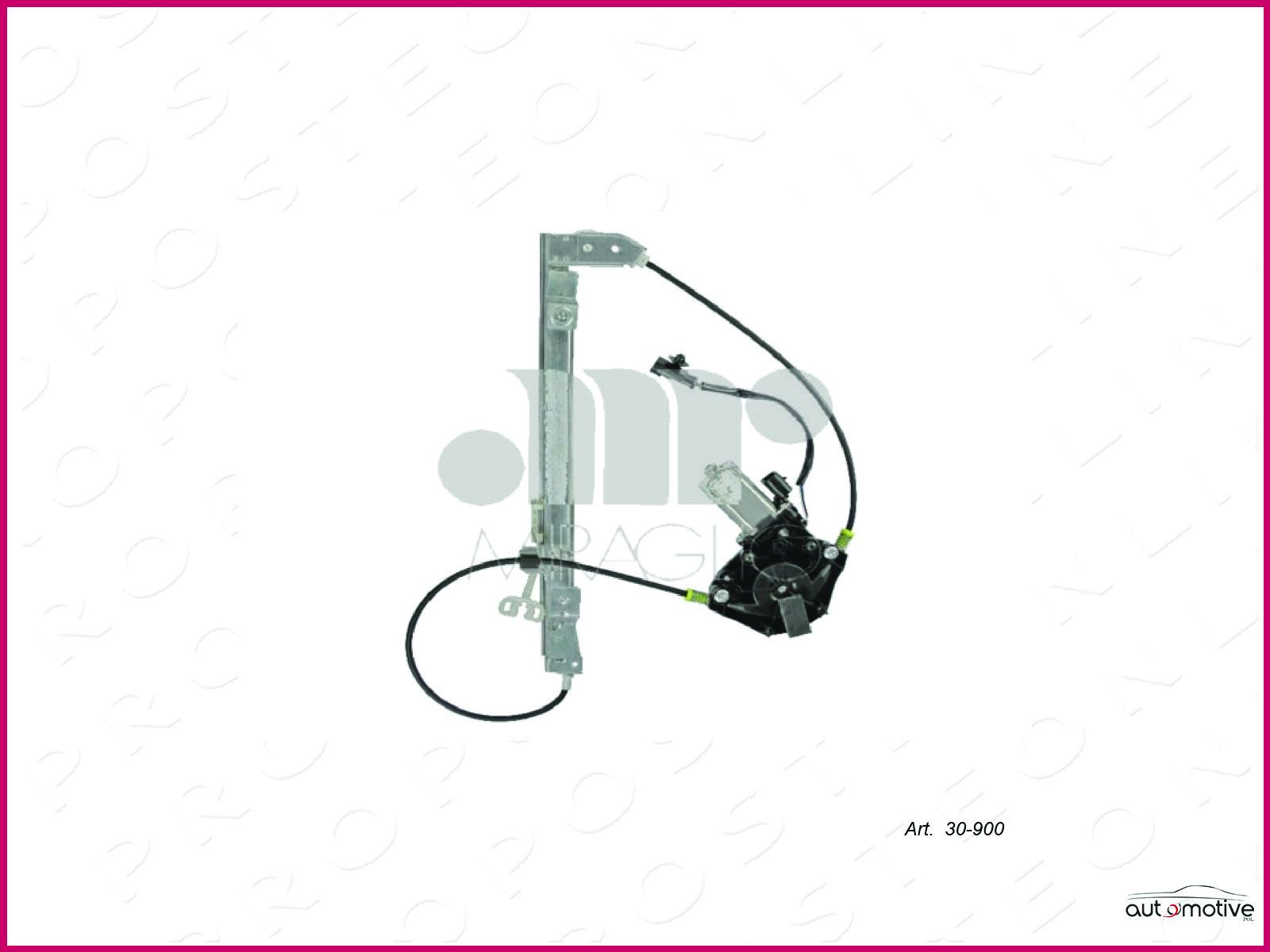 Leve-vitre-Vitres-Electriques-Electrique-Arriere-Gauche-Lancia-5P-1999-2006