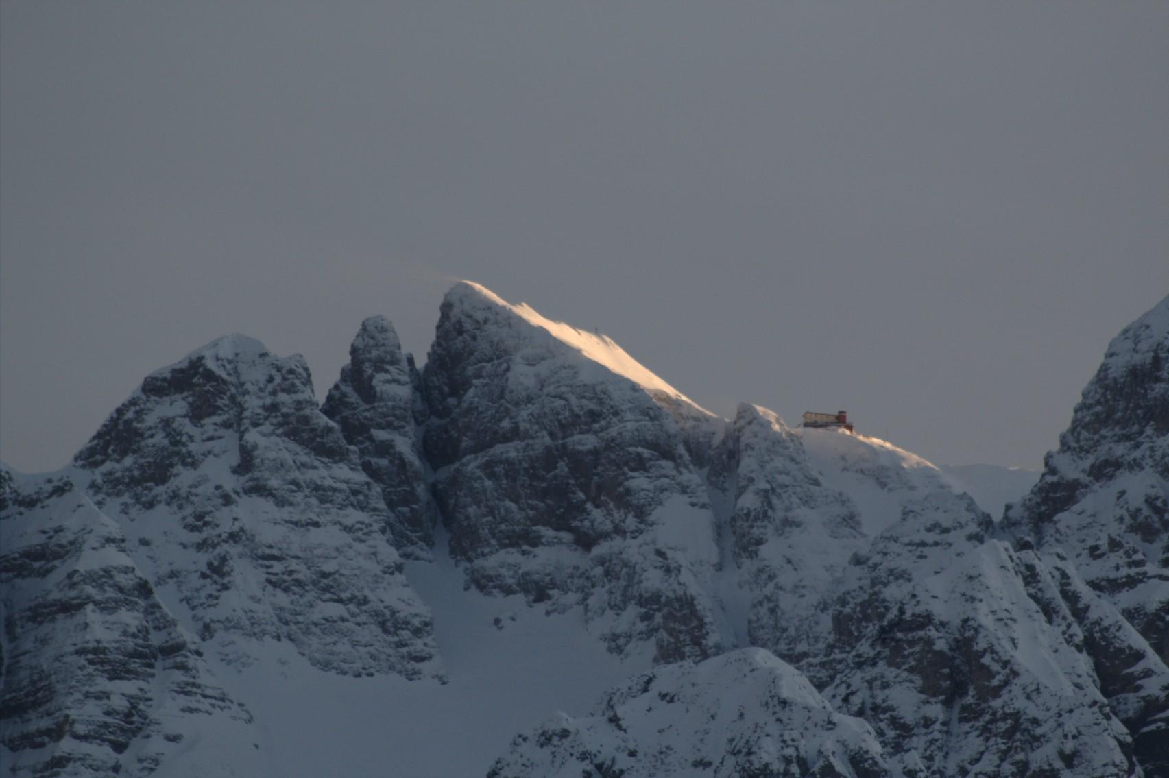 Tramonto sul Fraccaroli