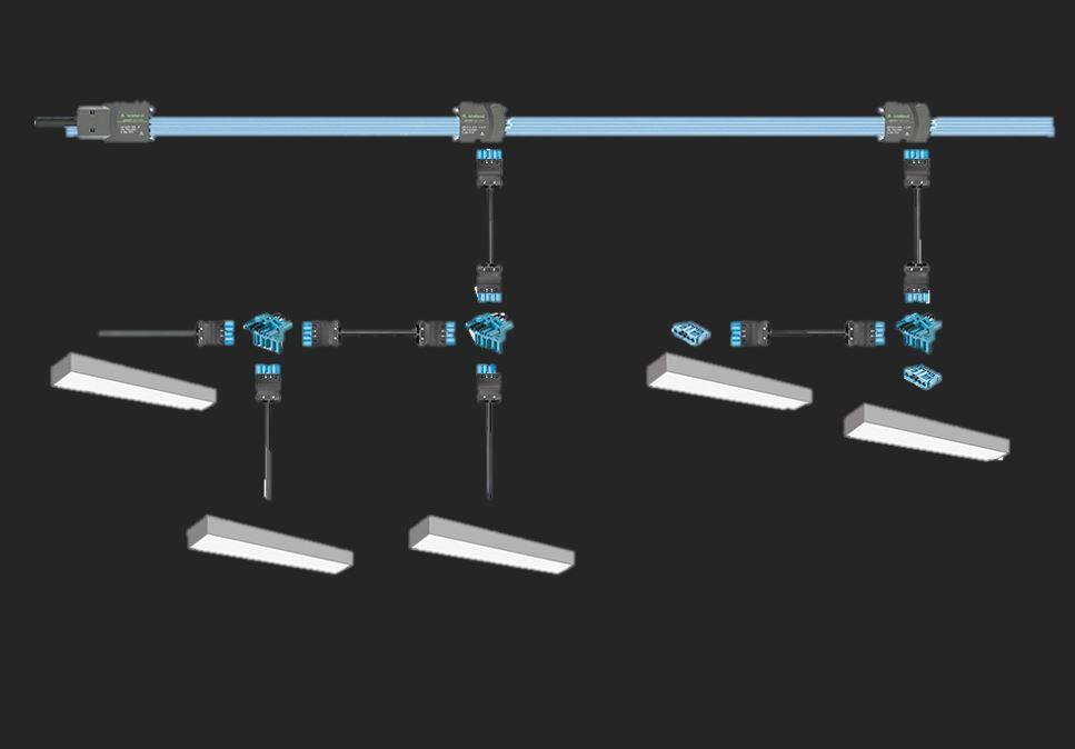 LED Stekerbare oplossing prefab maatwerk