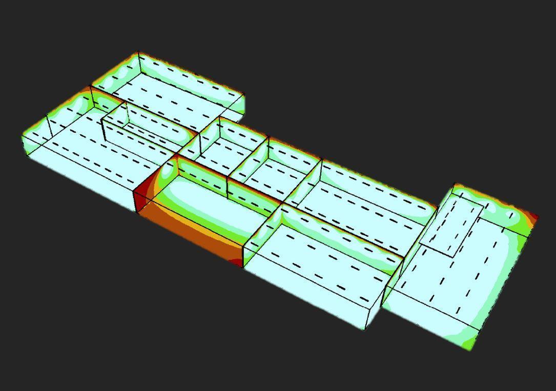 Lichtplan Lichtontwerp 3 D LED