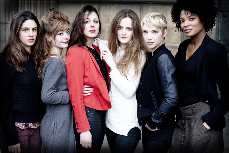 six actrices 2flow