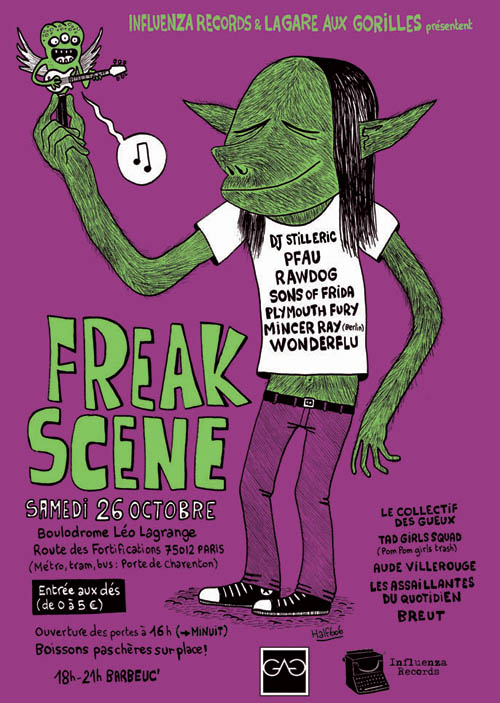Freak scene blog