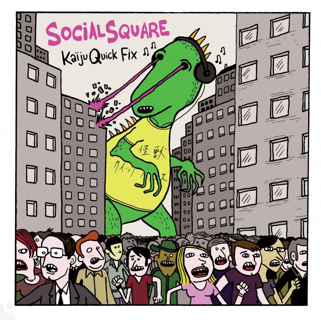 Social Square Kaiju Front