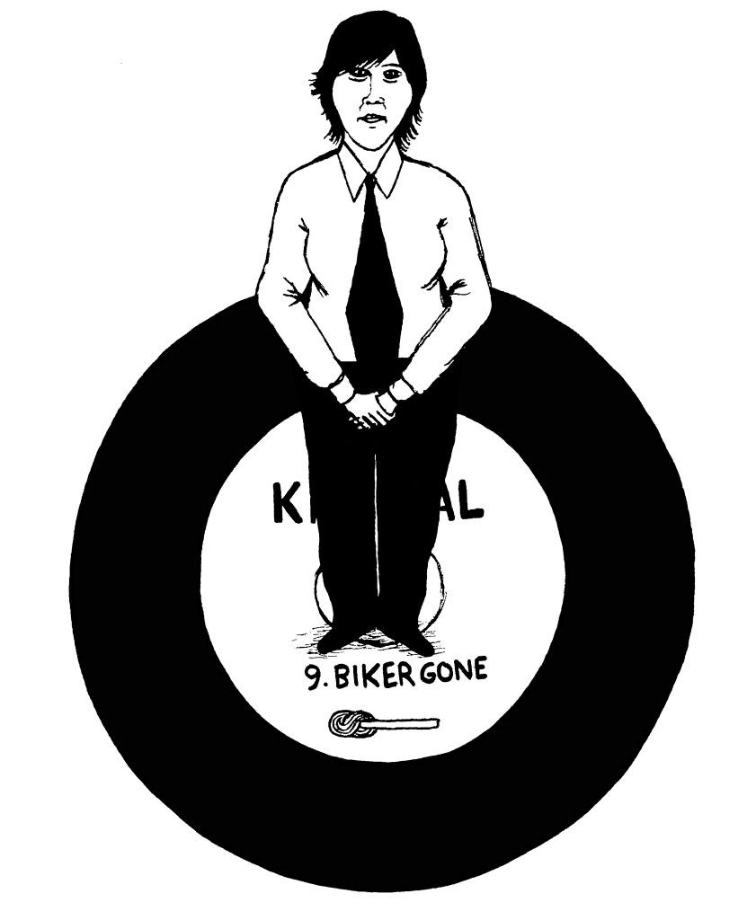 kim deal biker gone
