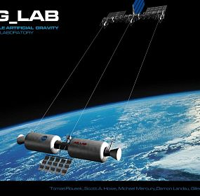 AG_LAB artificial gravity space station
