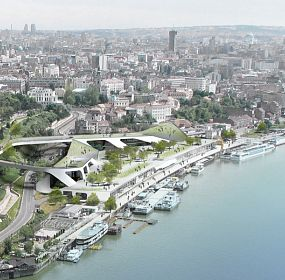 WATERFRONT CENTRE - The City of Belgrade, Serbia