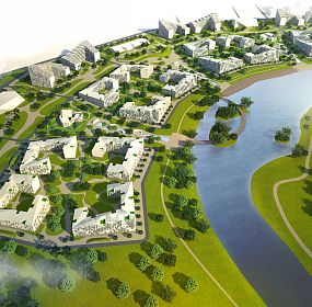 Residential sustainable district in Minsk
