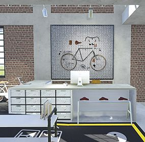 BIKE HOTEL- RECEPTION
