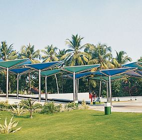 Entrance Porch at Kochi Refineries Limited