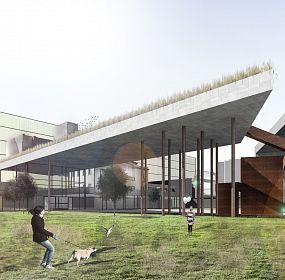 New gallery building in Yerevan, Armenia, competition project 2