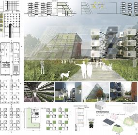 Horizontal Farm and Sustainable Housing for Students inside the EX EXPO 2015 Site, Milan, Italy