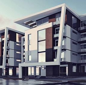 Mixed use residential development project in Amman , Jordan
