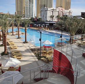 PH TOWERS POOL AREA, LAS VEGAS
