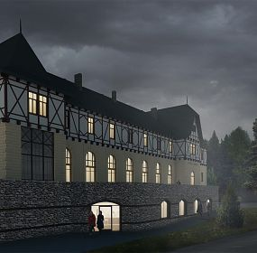 Restoration of the Hotel Lomnica