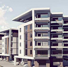 mixed use residential developlent project