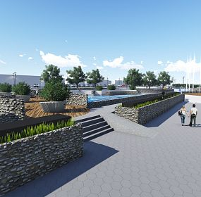 Project of Urban Regeneration of the river banks in Krusevac
