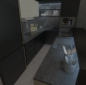 Kitchen, interior design project