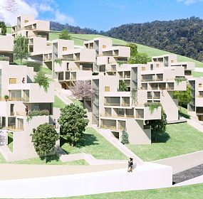 """Student Campus in Dilijan"" diploma project"