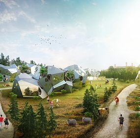 aTYPICAL HOUSING/ POLAND / , Parametric Modeling and Fabrication as New Design Possibilities
