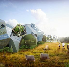 aTYPICAL HOUSING/ POLAND / Parametric Modeling and Fabrication as New Design Possibilities