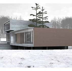Private house-1, Moscow, Russia