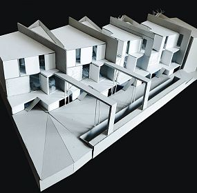 Private houses in Dzrvezh, Armenia / scale model