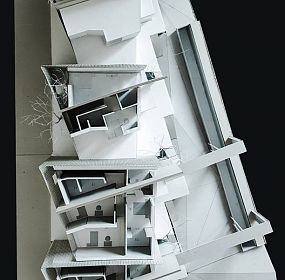 Private houses in Dzrvezh, Armenia / scale model/ 2nd floor
