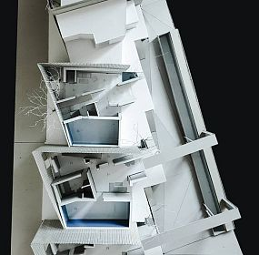 Private houses in Dzrvezh, Armenia / scale model/ 1st floor