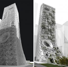 Tower project approach to sustainable architecture