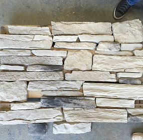 Facade Material assembly