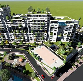 The panoramic green tower 01