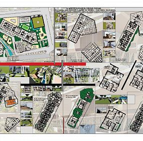 Plans and the immediate environment surrounding the project