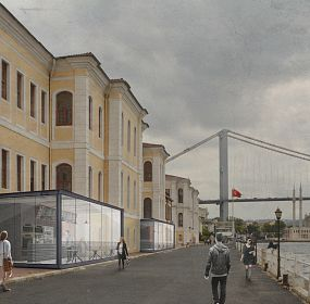 Miscellaneous Projects for a High School on Bosphorus Istanbul